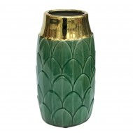 Art Deco Vase - Green