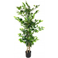 Artificial Ficus Tree with Natural Trunk 125cm