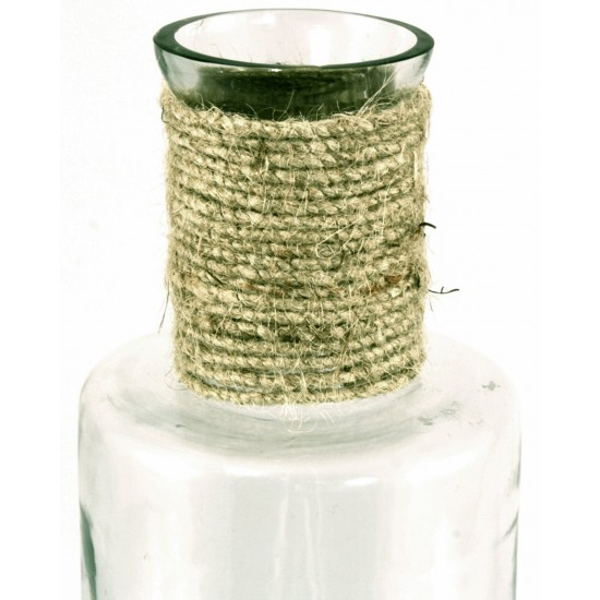 Glass Bottle With Rope