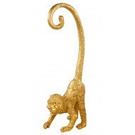 Curly Tailed Resin Monkey Ornament 43cm