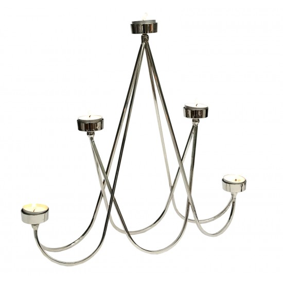 Funky Brass 5 Tea-Light Holder