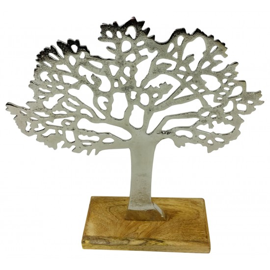 Silver Tree Ornament 26.5cm