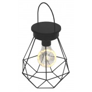 Hanging Black Wire Led Lamp