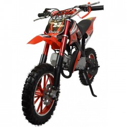 ZIPPER 50CC PETROL MINI KIDS DIRT MOTORBIKE - RED