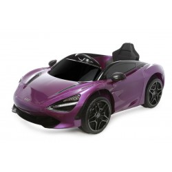12V Licensed McLaren 720S Ride On Car Purple