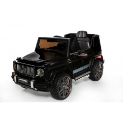 12V Licensed Mercedes G63 Ride On Car Black