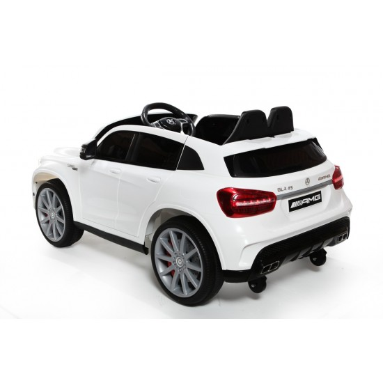 12V Licensed Mercedes GLA Ride On Car White