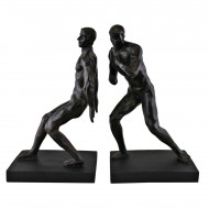 Male Statue Bookends