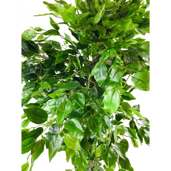Artificial Ficus Tree With Twisted Trunk 155cm