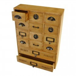 14 Drawer Storage Unit, Trinket Drawers