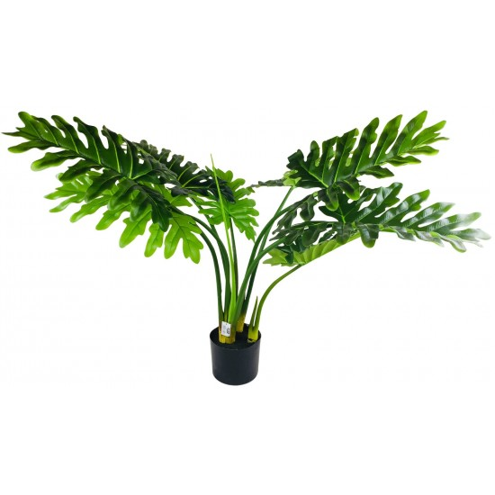 Artificial Philodendron Tree With Short Stem 95cm