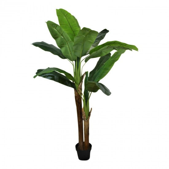 Artificial Banana Tree , 2 Stems, 160cm