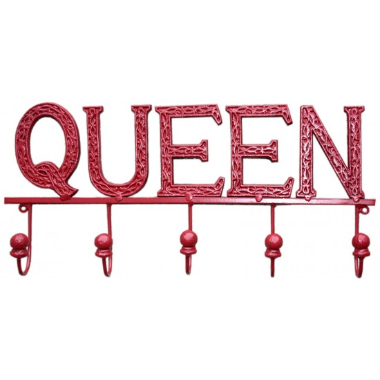 Red Queen 5 Hook Wall Unit