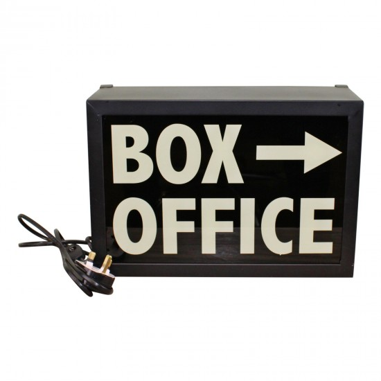 Decorative Lightbox, Box Office