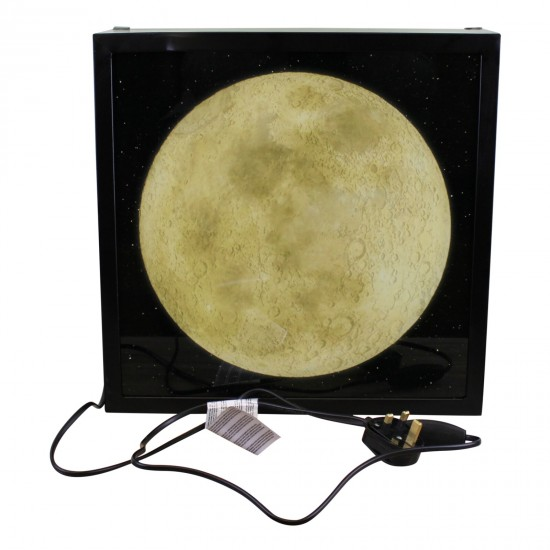 Decorative Lightbox, The Moon