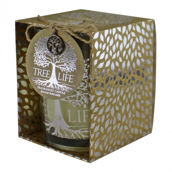 Tree Of Life Fragranced Candle In Gift Box