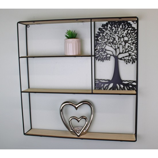 Tree Of Life Shelving Unit 50x50cm.