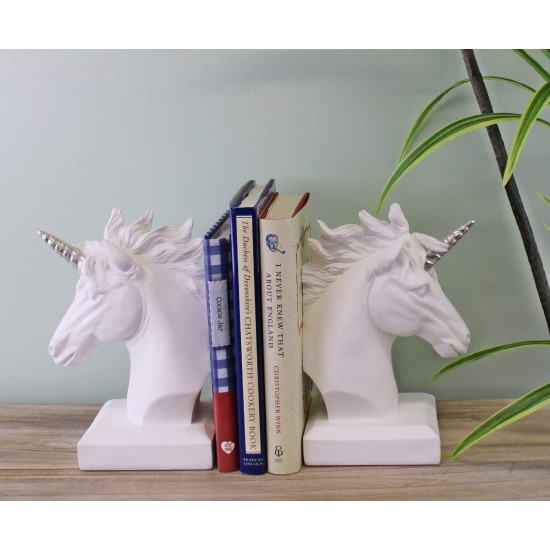 Classical Unicorn Bookends