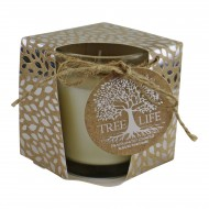 Small Tree Of Life Fragranced Candle In Gift Box