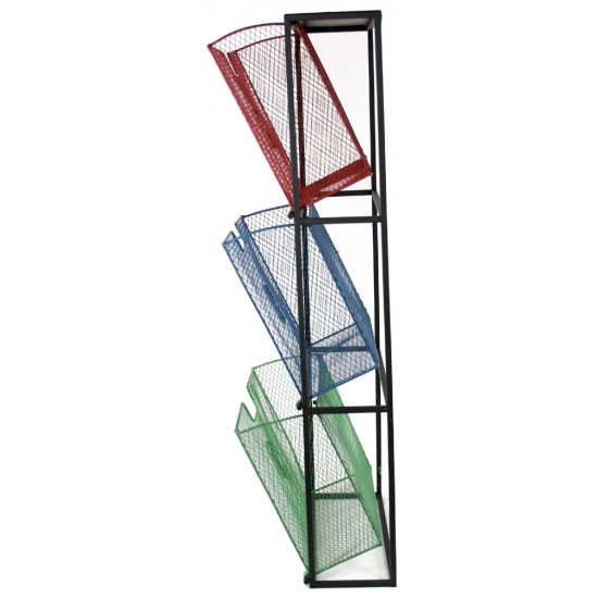 Coloured Wall Filing Unit