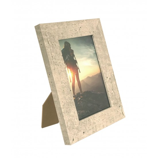 Wooden Photo Frame Cement 10 X 15