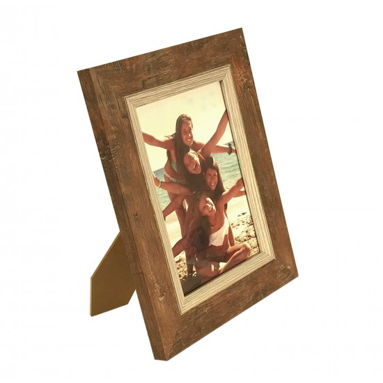 Wooden Photo Frame Natural 13 X 18